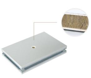 手工玻镁岩棉彩钢板