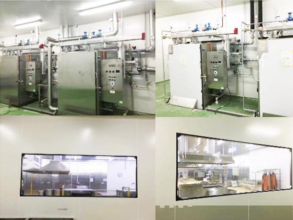 陆仕中央厨房十万级净化工程